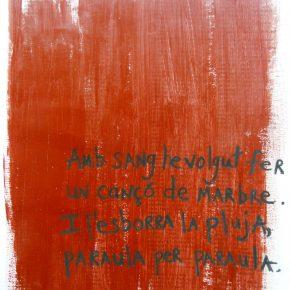 Artist Cynthia Grow - visualitzant la poesia de Salvador Espriu